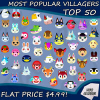 Animal Crossing New Horizons NTAG215 Amiibo Cards - The Most Popular Villagers!