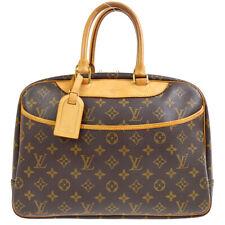 LOUIS VUITTON DEAUVILLE BOWLING BUSINESS HAND BAG PURSE MONOGRAM M47270 70228
