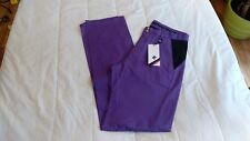 1 Nwt Cross Men'S Golf Pants, Size: W34 34L, Color: Lilac *B102