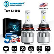 9007 HB5 LED Headlight Kit 2000W 300000LM HI-LO Dual Beam Bulbs 6000K White