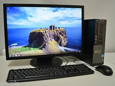 "Dell OptiPlex 790 SFF + MONITOR 22"" Intel i3 8GB DDR3 1TB HDD Windows 10 Wi-fi"