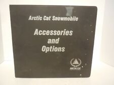 Arctic Cat Snowmobile Parts Manual Accessories and Options Order Catalog