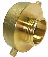 "BRASS NST NH REDUCER 2-1/2"" x 1-1/2"" FIRE HOSE or HYDRANT ADAPTER"