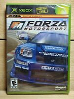 Forza Motorsport (Microsoft Xbox, 2005) Brand New & Factory Sealed NIB