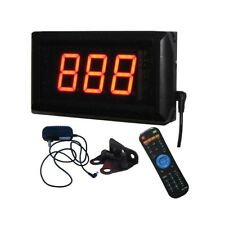 """1.8"""" 3 Digits LED Seconds Countdown/up Timer Count up to 999 SECS Wall Mounted"""