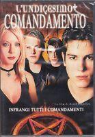 Dvd **L'UNDICESIMO COMANDAMENTO ♦ INFRANGI TUTTI I COMANDAMENTI** nuovo 2001