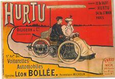 Hurtu Leon Bollee MODERN postcard issued in France