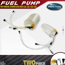 Left+Right Fuel Pump Assembly for Porsche Cayenne 2003-2010 3.2L 3.6L 4.5L 4.8L