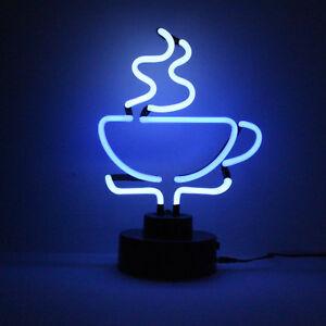 Neon Coffee Shop Tea Room Light Sign Counter Window Shelf Advertising Lamp 33cm!