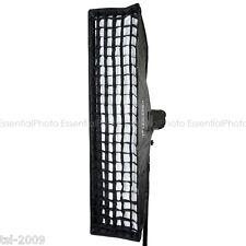 35x160cm Bowens S Fitting Large Studio Strobe Flash Strip Softbox Stripbox