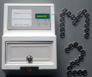 Brand New Token Meter complete with 50 Tokens for use with sunbeds, Snooker etc