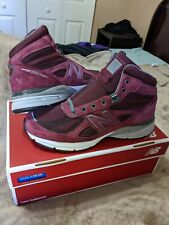 NEW BALANCE 990 Mid Burgundy 11 Made in USA 990v4 MO990BU4 997 1300 998 $195