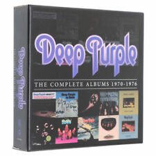 "Deep Purple ""The Complete Albums 1970-1976"" 10 CD Box Set Limite"
