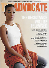 The Advocate magazine The resistance Samira Wiley Michael Williams Dax Shepard