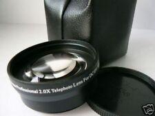 BK 52mm 2.0X Tele-Photo Lens For Panasonic DMC FZ100 FZ40 FZ45 FZ8 FZ7 Camera