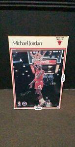 Michael Jordan OG Wooden Painting Autographed (56cm x 87cm)