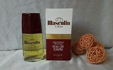 """VINTAGE"" MASCULIN 2 Bourjois eau de toilette 112ml spray, discontinued rare"