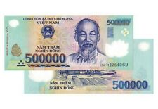 1,000,000 VIETNAMESE DONG CURRENCY (VND) - (2) 500,000 Banknotes - FREE DELIVERY