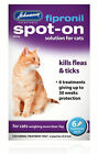 Johnsons fipronil Pulgas Gato & TICK SPOT-ON Tratamiento Gotas 5 15 & 30WK