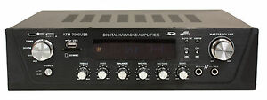 LTC Stereo Amplifier ATM7000USB-BT 2 x 50 W USB/MP3/SD Atm 7000 USB