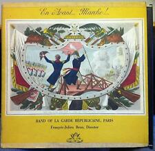 Francois Julien Brun - French Military Marches LP Mint- ANG 35507 UK Mono 1st