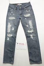 Levi's 511 schlank destroyed boyfriend Jeans gebraucht Cod.F908 Größe 46 W32 L34