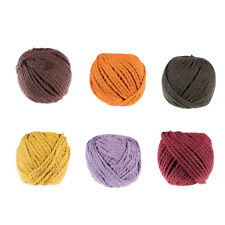 Colorful 5mm Cotton Rope - 50 Meter Spool for Macramé, Dream Catchers & More