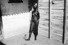 DJIBOUTI 1935 - Quartier Réservé Afrique - Négatif 24x36 - 13-26