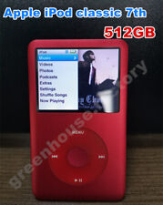 NEW Apple iPod Classic 7th Generation RED 512GB MP3 Player (Latest Model)-Sealed