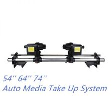 74''inch Mimaki JV3/JV22 Mutoh VJ1604 Auto Media Roller Take Up Reel System 110V