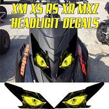 SKI DOO  XS XM XR RS MX Z TNT SUMMIT GSX RENEGADE HEADLIGHT DECAL STICKER MXZ 5
