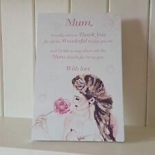 Floral Mum Decorative Plaques & Signs