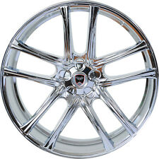 4 GWG Wheels 22 inch Chrome ZERO Rims fits MAZDA CX-7 2007 - 2012