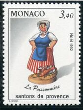 TIMBRE DE MONACO N° 1847 ** NOEL / SANTONS DE PROVENCE / LA POISSONNIERE