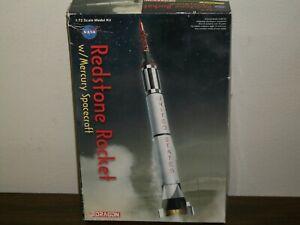 Dragon 1/72 Scale Redstone Rocket w/Mercury Spacecraft