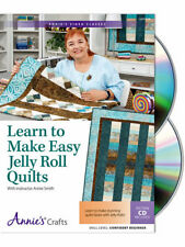 Learn to Make Fast Easy Jelly Roll Quilts by Annie's Attics Video Class CD NEW