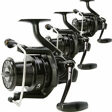 Daiwa NEW Crosscast BLK 5000 Big Pit Set of 3 Quick Drag Carp Fishing Reels