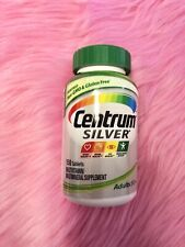 Centrum Silver Multivitamin Supplement Adult 50+ | 150 Tablets NEW Exp 03/21
