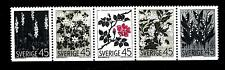 SWEDEN - SVEZIA - 1968 - Fiori selvatici