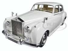 1960 ROLLS ROYCE SILVER CLOUD II WHITE 1/18 DIECAST MODEL MINICHAMPS 100134900