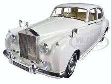 1960 ROLLS ROYCE SILVER CLOUD II WHITE 1/18 DIECAST MODEL MINICHAMPS 100134900