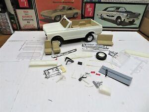 ORIGINAL 1/25 AMT 1972 CHECROLET BLAZER PROJECT BUILDER MODEL