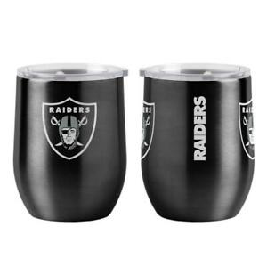 Las Vegas Raiders 16oz Curved Ultra Travel Tumbler [NEW] Cup Mug Coffee Drink