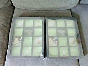 MCS Collectors Treasure Frame 11 X 14 12 COMPARTMENTS 3 1/2 X 3 1/4 DISPLAY CASE