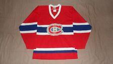 Vintage Montreal Canadiens Red Maska Men's Medium NHL Original Hockey Jersey