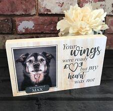 Dog Passing Gift, Rainbow Bridge, Memorial Git, Memorial Frame, Pet Memorial