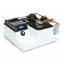 "Hi-Tech Diamond 6"" Trim Saw | Lapidary Saw Machine | Includes TWO Blades & Vise"