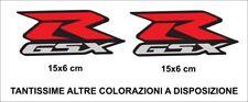 Adesivi SUZUKI GSX R 1000 750 600 Coppia Alta qualità Stickers Decals