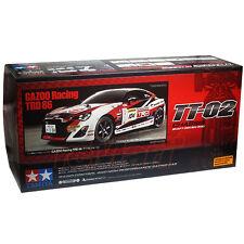 Tamiya 1:10 TT02 GAZOO Racing TRD 86 w/ESC EP RC Tourning Car Kit On Road #58574