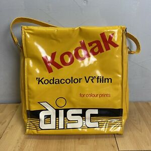 Vintage Kodak Yellow Camera Bag Disc Kodacolour VR Film